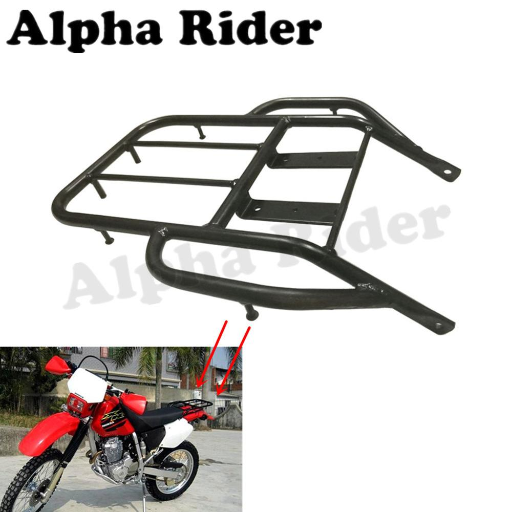 Rear Detachable Luggage Rack Support Holder Saddlebag Cargo Shelf Bracket for Honda XR250 XR400 Dirtbike Motocross partol black car roof rack cross bars roof luggage carrier cargo boxes bike rack 45kg 100lbs for honda pilot 2013 2014 2015