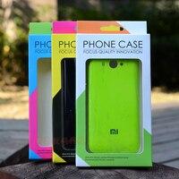 Оптовая продажа 200 шт./лот 9x16x1,5 см различных Цвета крафт Бумага мобильный чехол для телефона Коробки для iPhone 7 6s SE Galaxy S7 S6y