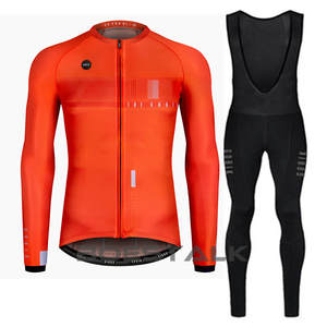 91a1cc984 2019 bike skimo Pro Unisex darkness Inverno maillot ciclismo hombre thermal  fleece cycling jersey long sleeve Chaqueta Custom