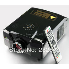 Big sale! Free Shipping! Mini hd projector video proyector/beamer for pc/laptop/ps/xbox/will/tv/game cube with hdmi&usb
