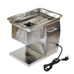 1 pc 110 V ze stali nierdzewnej krajalnica do mięsa/Cutter typu Desktop krajalnica do mięsa maszyna do cięcia mięsa QX