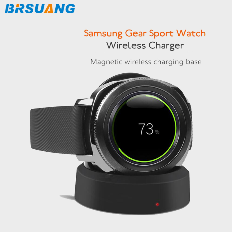 BRSUANG Smartwatch Charger Samsung Gear Sport Lg W270 Magnetic-Charger-Charging-Dock