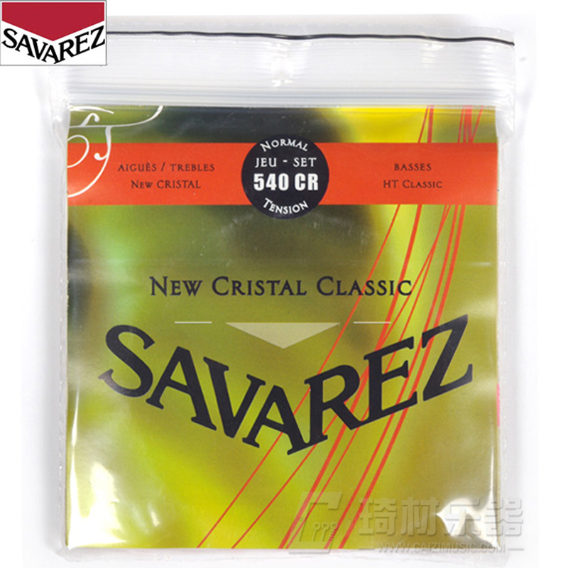 Savarez New Cristal/HT Classic NT Classical Guitar Strings Full Set 540CR