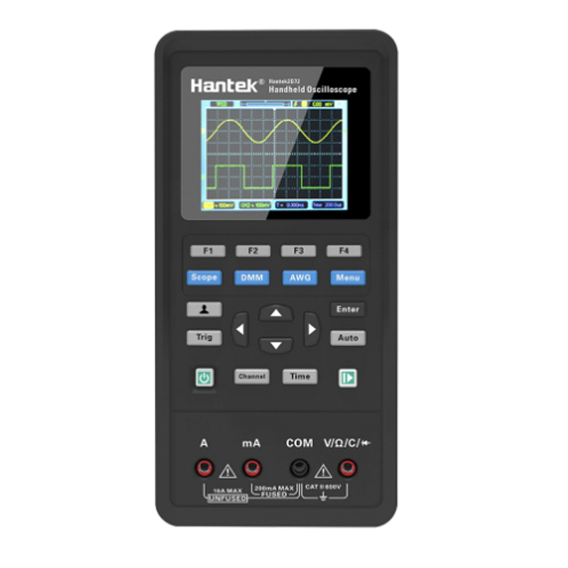 <font><b>Hantek</b></font> 3 in1 Digital <font><b>Oscilloscope</b></font>+Waveform Generator+Multimeter Portable USB 2 Channels Hantek2C42/2D42/2D72 Test Meter Tools image