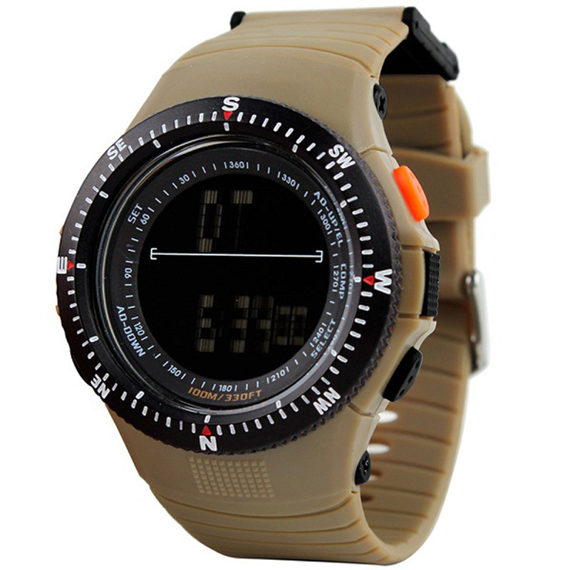 Prix pour SKMEI 0989 Hommes Sport Montres Homme Mode Décontractée Quartz Horloge LED Numérique Étanche Montres Militaires Drop Shipping