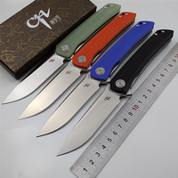 Worth! CH CH3002 tactical pocket folding knife D2 blade G10 handle camping hunting survival knives flipper portable EDC knife