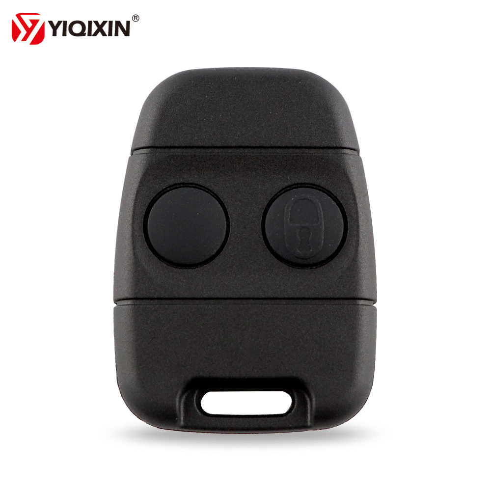 YIQIXIN 2 Button Remote Cover Key Shell Fob For Land Rover Discovery Freelander ZS ZR 200 400 25 45 Auto Key Smart Case