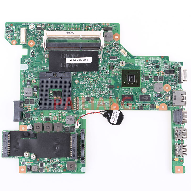 Laptop motherboard for DELL Vostro 3400 V3400 PC Laptop Mainboard CN 08YN7X 08YN7X DW40 09297 1