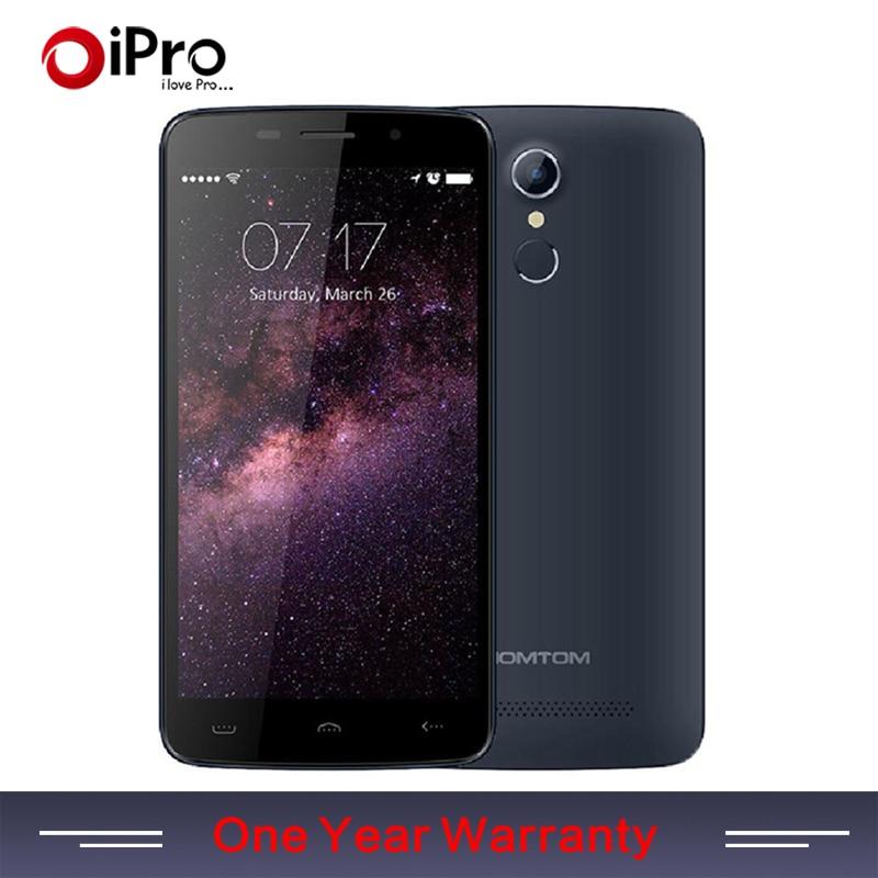 Original HOMTOM HT17 Phone Mobile MTK6737 5.5 inch Android 6.0 Quad Core 4G 1GB+8GB OTG 13.0MP Fingerprint Smartphone