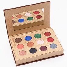 12 Cores História Livro Mágico Maquiagem Natural Matte Paleta de Sombra Matte Shimmer Paleta Da Sombra de Olho Maquiagem Paleta De Sombra