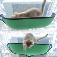 Cat Hammock Bed Removable Pet Rest Mount Window Suction Cup Space For Small Animal Playing Sleeping