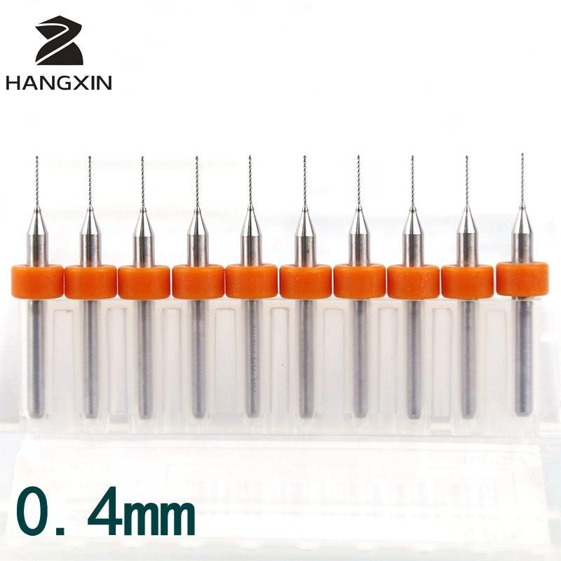 10pcs 1.7mm Bending Resistance PCB Carbide Alloy Micro Drill Bits