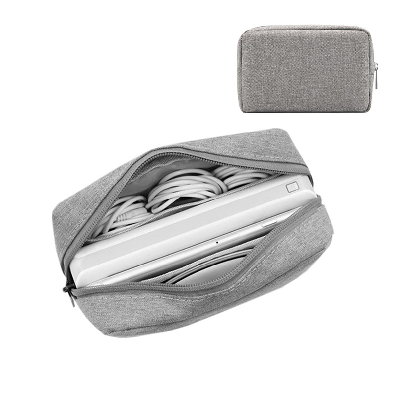 Oxford Fabric Digital Bag Data Cable Mouse Charging Mobile Package Men's Travel Necessary Storage Organizer Accessories Supplies