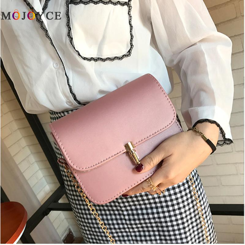 Fashion Female Messenger Bag Pu Leather Woman Colorful Single Belt Shoulder Bags High Qu ...