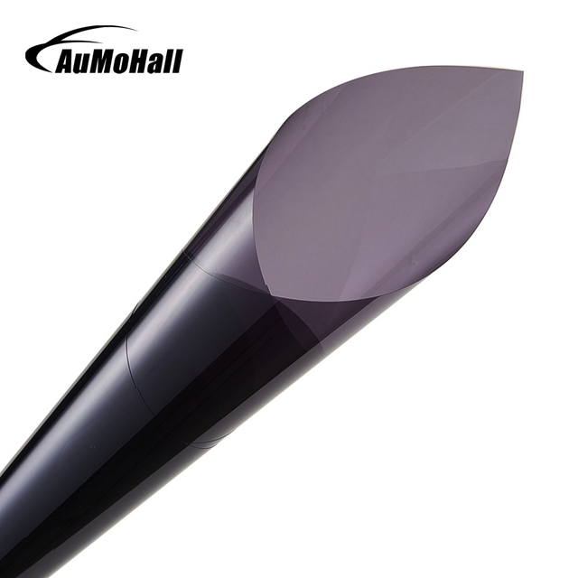 AuMoHall 0.5*3m Light Gray uv+insulation Car Window Tint Film VLT 50% 2 ply Solar Protection Film