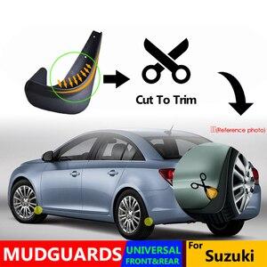 Image 4 - Set Universal Mudflaps Mud Flaps Splash Guards Mudguards For Suzuki Alto Vitara Ignis Swift Swift SX4 Aerio Kei Daewoo Magnus