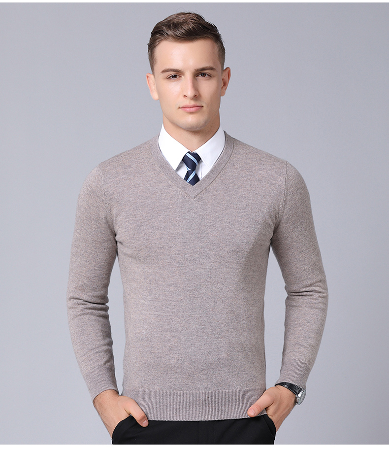 bf5d307a20b MACROSEA Classic Style Solid Color 100% Wool Men s Business Casual ...