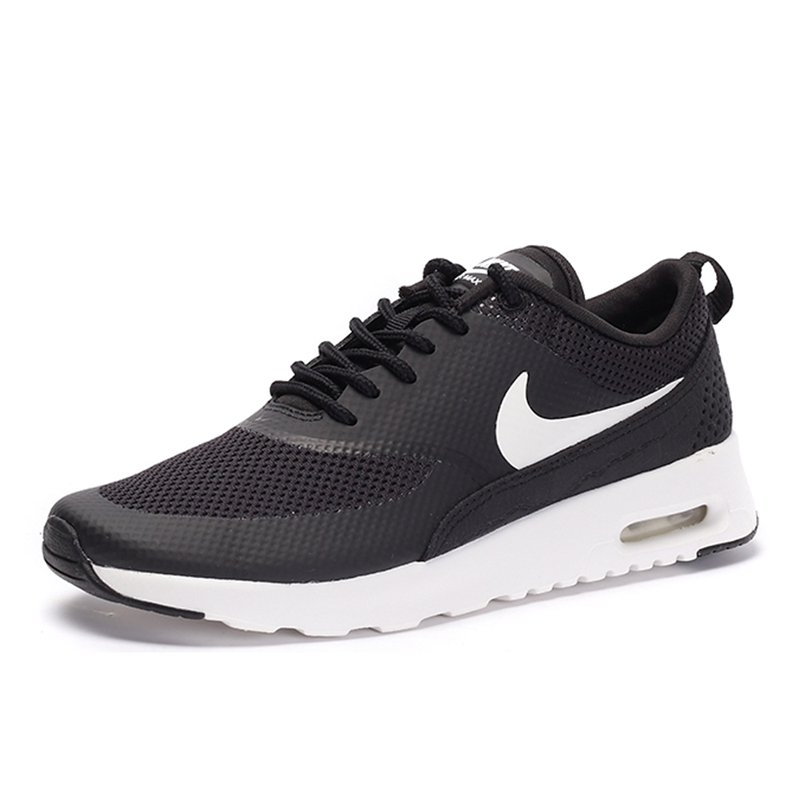 Original NIKE New Arrival Official Authentic Breathble Black AIR MAX THEA Women's Running Shoes Sneakers Outdoor Athletic in Running Shoes from Sports