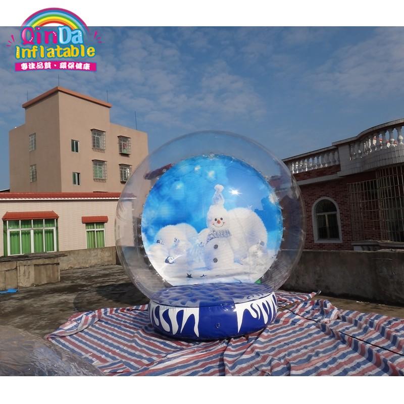 inflatable snow globe24
