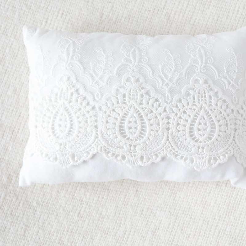 ¡Novedad de 2019! Almohadas rellenas de 0 a 15 días para fotografía de recién nacidos, accesorios de tela de encaje, almohada Floral, estudio fotográfico