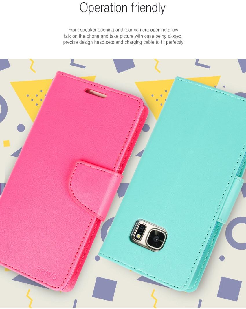 Mercury Goospery Bravo Diary Cover Flip Wallet Case For Samsung J7 Core Fancy