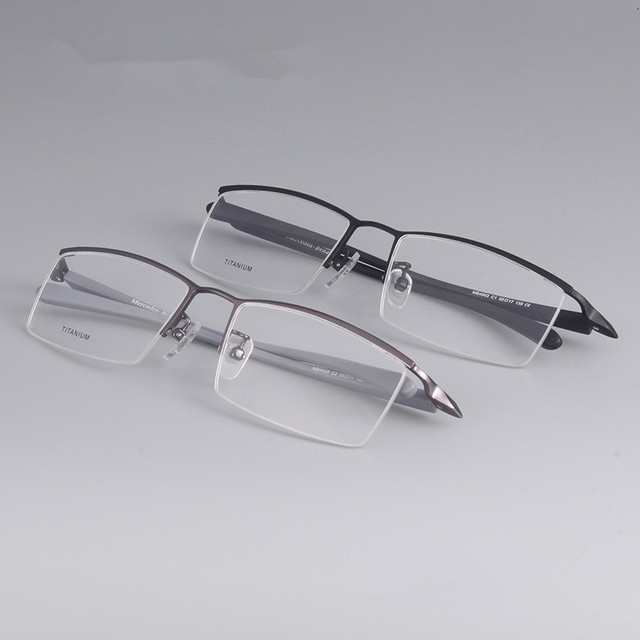 169b0cb442f Eyebrow wire eye glasses frames for men and women prescription eyewear  fashion eyeglasses High-end