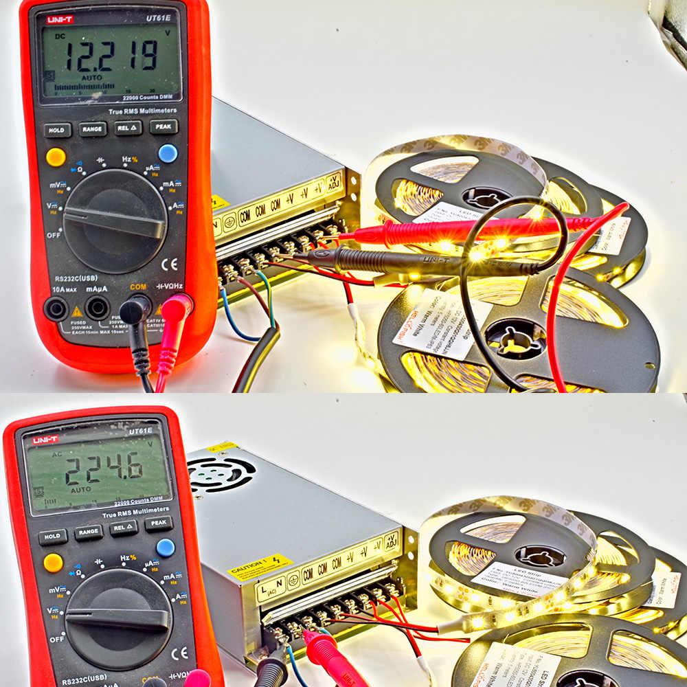 Ac dc 12v трансформер для светодиодной полосы переключения Питание преобразователь alimentatore импульсный источник 220V 230 V-12 v 2a 5a 10a 15a 20a 30a