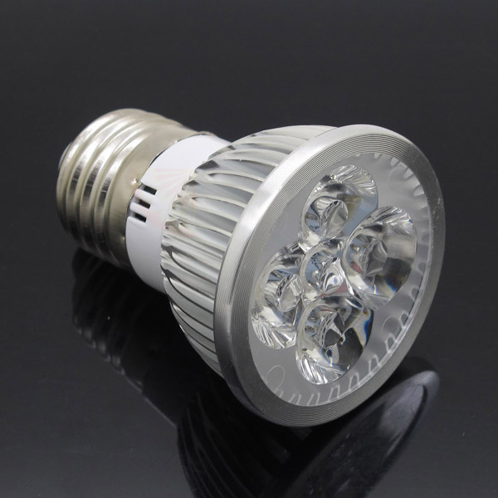 Lamparas Led Watts Us 3 67 Lamparas Dimmable E27 Led Spotlight 4leds Light Bulb 220v Lamp Ac 85 265v Lampada Real Watt 4w 400lm Bombillas Candle Ampoule In Led Bulbs