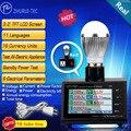 DS2100LCD וואט מד כוח מנתח/חשמל בודק/מדידה עם שני E14 שני E27 שני שקעי חשמל שתי מטר