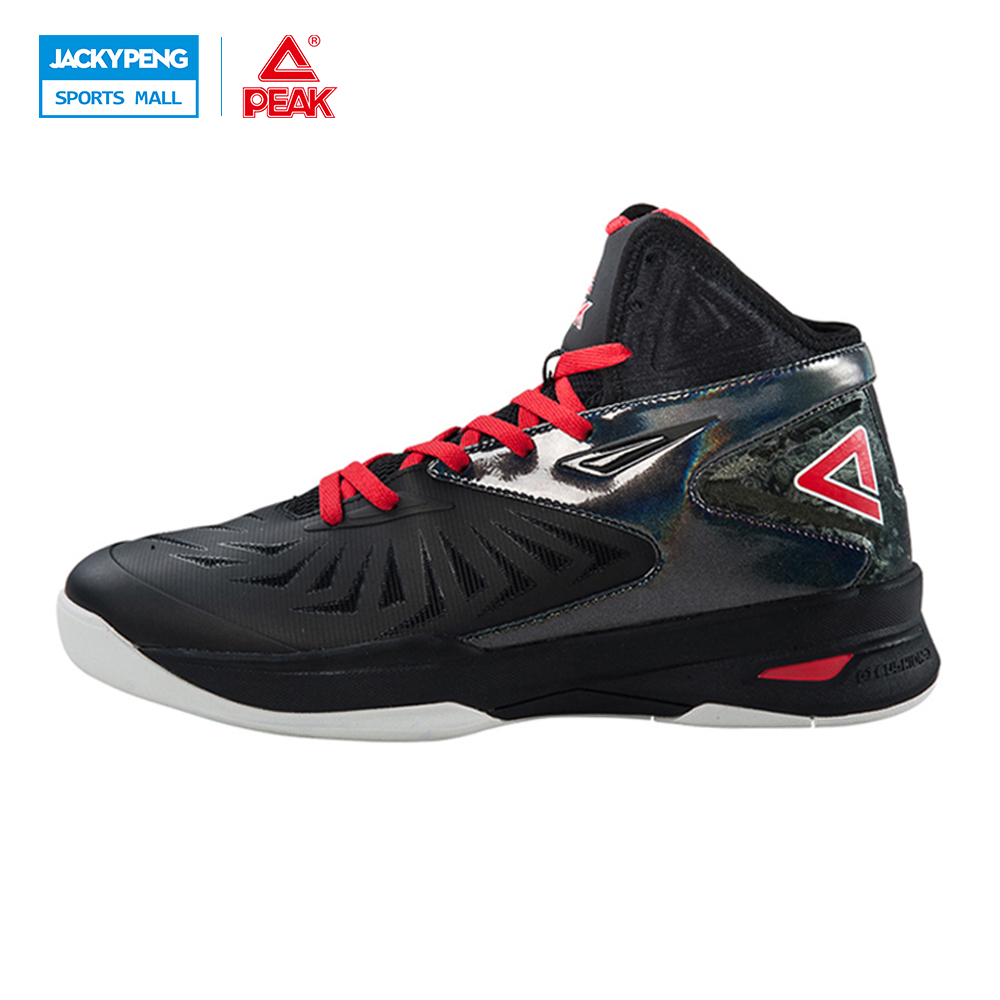 PEAK SPORT Speed Eagle V Men Basketball Shoes Breathable Competitions Sneakers Cushion-3 REVOLVE Tech Athletic Boots EUR 40-50 peak sport monster ii men basketball shoes foothold tech sneakers breathable training athletic durable rubber outsole boots