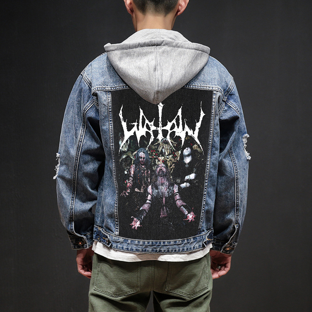 Bloodhoof Store Watain Rock And Roll Death Heavy Hardcore Punk Style Patch Designs Denim Jeans Mens Jackets And Coats