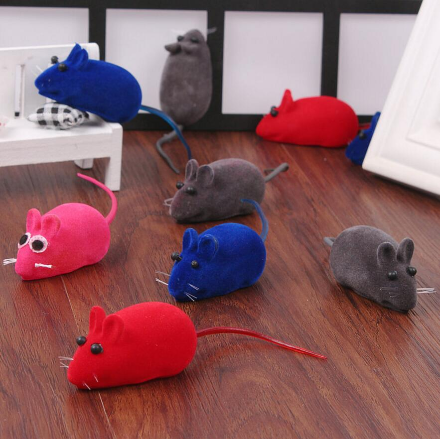 Magical cat plush toys mouse squeak noise the cat toy dog pet toys colorful delicate k666-in Cat