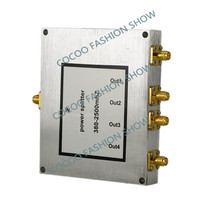 Power Dividers 4 Way Power Splitter Frequency 800 2500mhz For 3g cdma gsm Mobile phone repeater wifi booster