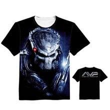 7956ca87 Woman Man AVPR Alien Vs Predator Lovely Printing Custom Made T-shirt Tees  Fashion Cool
