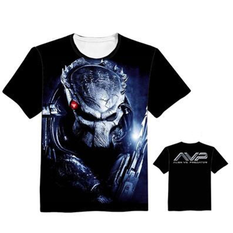 Woman Man AVPR Alien Vs Predator Lovely Printing Custom Made T-shirt Tees Fashion Cool Fancy Tee High Quality Support Custom ...