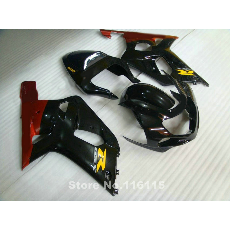 fairings set for SUZUKI GSXR 600 750 K1 2001 2002 2003 red black fairing kit GSXR600 GSXR 750 01 02 03 bodywork GT31 lowest price fairing kit for suzuki gsxr 600 750 k4 2004 2005 blue black fairings set gsxr600 gsxr750 04 05 eg12