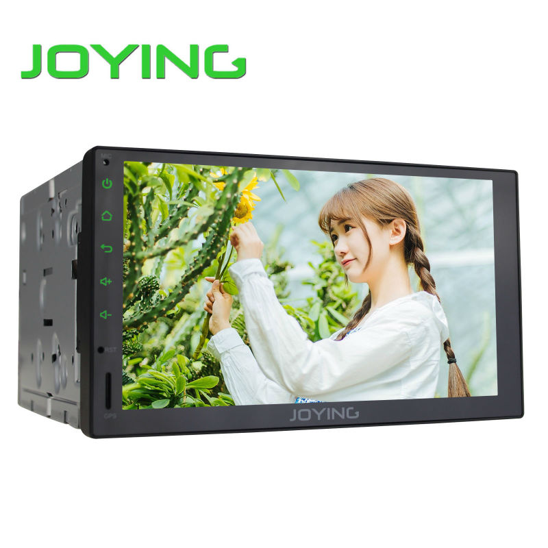 Joying 7 inch Universal Car Multimedia Player Quad Core Android 1024*600 Double 2 Din Car Radio Head Unit Steering Wheel Control