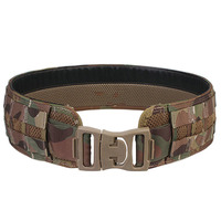 New Tactical Belt Men Camo Belt Airsoft Combat Weight waistband MOLLE Load Bearing Black Multicam with Free Shipping