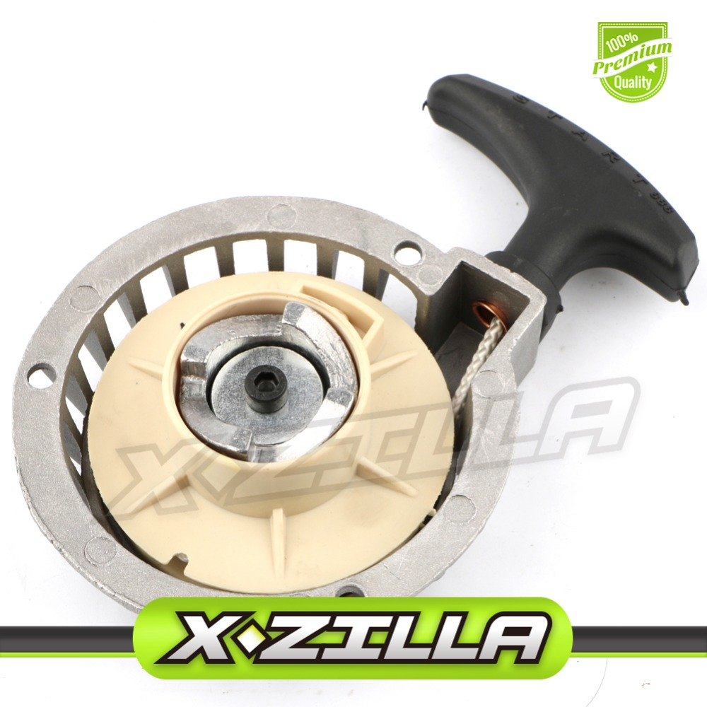 Engine Motor Pull Start Recoil Starter Rewind Kit for 2 stroke 47cc 49cc Pocket Bike Dirt Bike