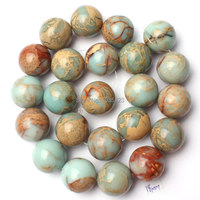 Free Shipping 18mm Pretty Natural Shou Shan Stone Round Shape Gems Loose Beads Strand 15 DIY Creative Jewellery Making w2246
