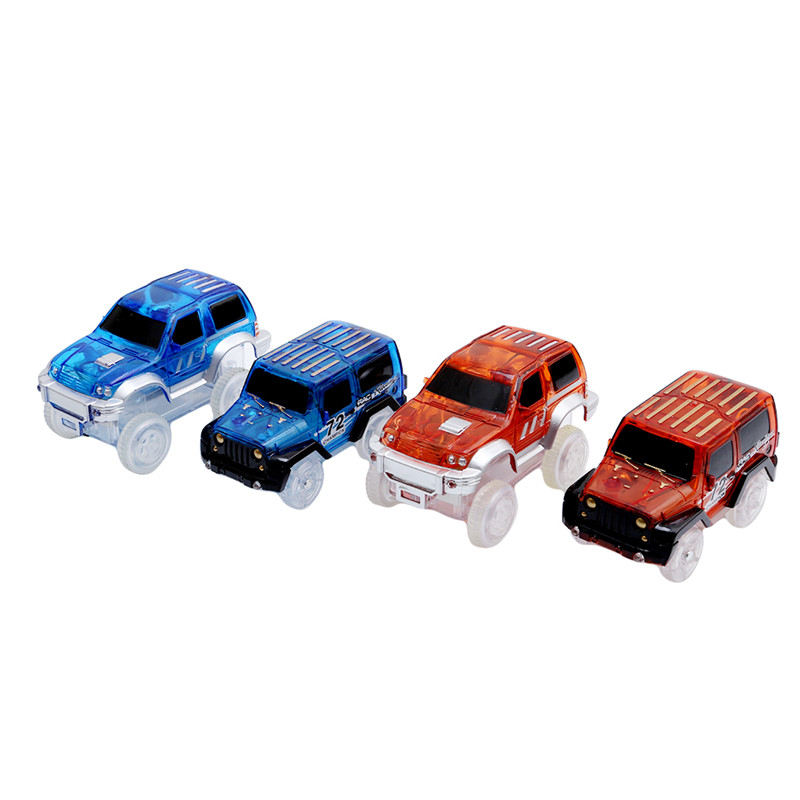 Electronics Car Toys With Flashing Lights Educational Toys For Children Boys Birthday Gift Boy Play Magic Track Together