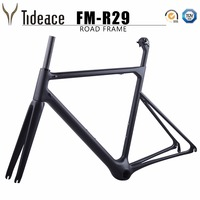 2018 NEW 100 Monocoques Super Light 778g Road Carbon Bicycle Frame 46 48 50 52 54