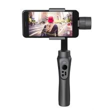 Новинка Zhiyun гладкой Q ручной 3 оси Gimbal стабилизатор для смартфона для GoPro 3 4 5and Zhiyun ZW-B01 удаленного
