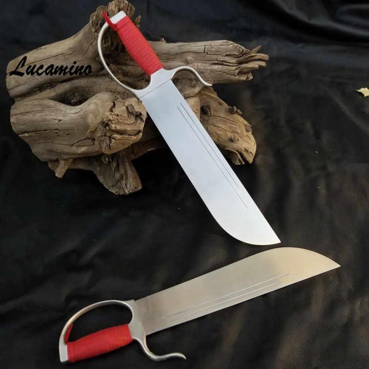 Wing Chun Bướm Thanh Kiếm Truyền Thống đầu lớn Võ thuật Bart Cham Dao đầy đủ Tất Cả Các thép không gỉ hẹp đầu bướm thanh kiếm