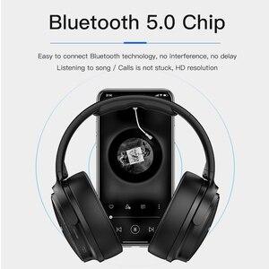 Image 2 - AWEI Budget Bluetooth V5.0 Cuffie da gioco Cuffie stereo senza fili cablate Senza fili AAC Cancellazione del rumore con supporto microfono TFcard