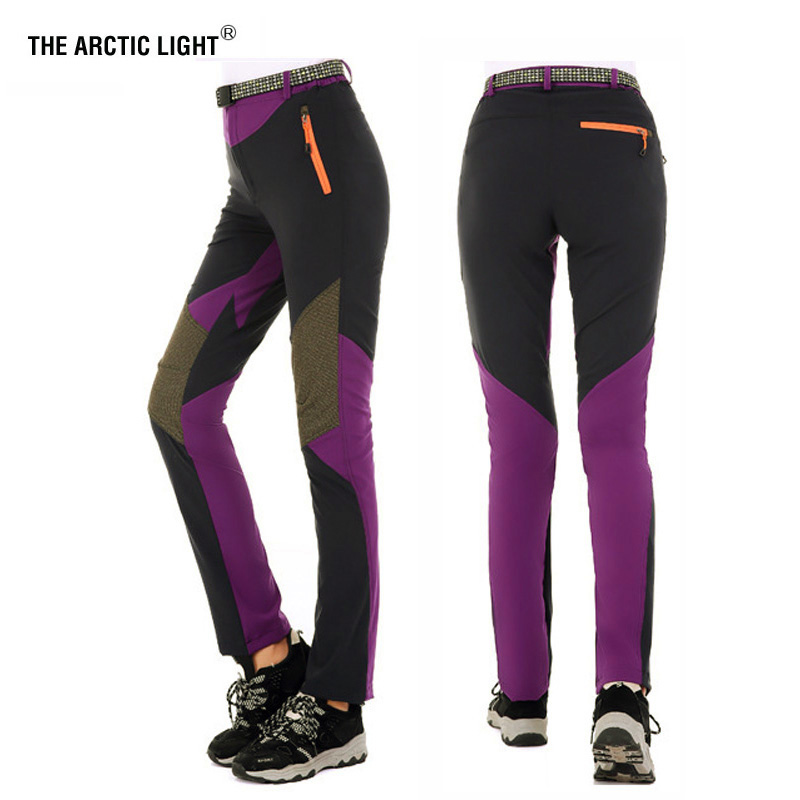 THE ARCTIC LIGHT Outdoor Women Quick-drying Sports Hiking Mountain Climbing Pants Quick Dry Waterproof Windproof Trousers Lady