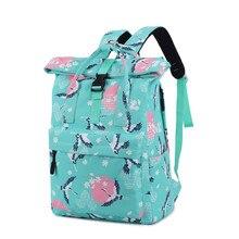 Купить с кэшбэком New Fashion School Backpacks for Teenage Boys Men Laptop BackBack Japan and Korean Style Printing School Bags Casual Travel Bags