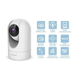 Image 3 - Foscam R4M 4MP סופר HD WiFi מצלמה 2.4G/5G Wifi בית פאן/להטות וידאו מעקב אבטחת IP מצלמה