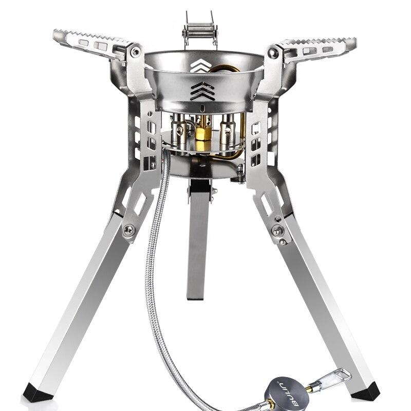 Булин BL100-B16 походная плита Походное Оборудование Для Пикника Складной Сплит газовая плита переносная барбекю шестерня