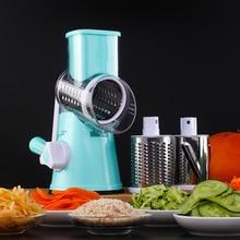 Vegetable Cutter Slicer Kitchen Tools Accessories Multifunctional Round Mandoline Potato Cheese Gadgets